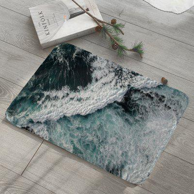 Shanghaojupin Wave Flower Floor Mat
