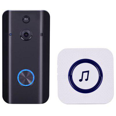 SIMCAM SP - 02 Bezdrátová WiFi 1080P HD Smart Video Doorbell Kit