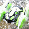 Four-wheel Drive Amphibious Remote Control Stunt Car Toy - GREEN