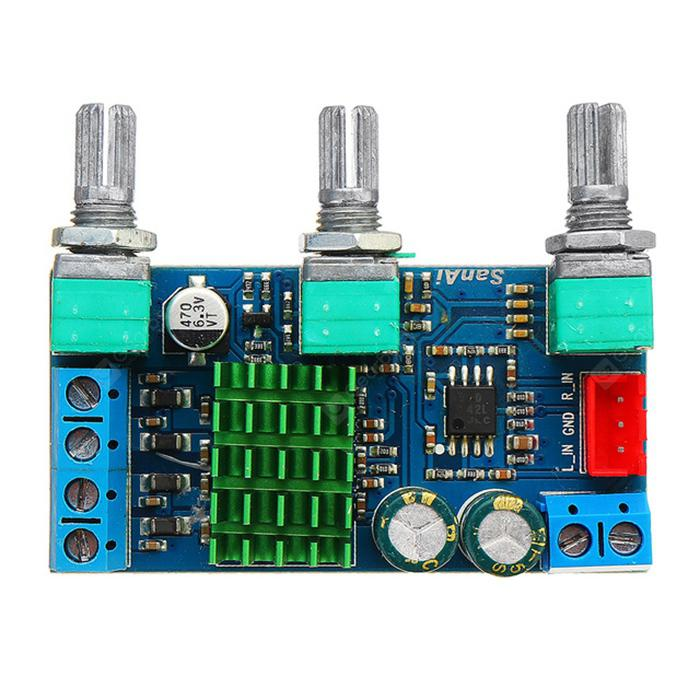 DC 12V To 22V TAP3116D2 2 0 Stereo Double Channel High Power Digital  Amplifier Board