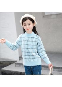 Girls Comfortable Warm Long-sleeved Sweater
