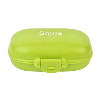 4 / 6 Grid Plastic Small Pill Storage Box