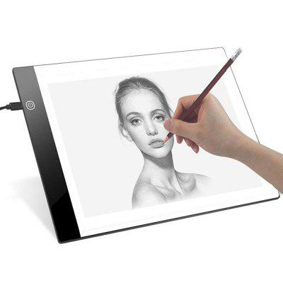 Digital LED Graphics Tablet 240*148 Anime Writing Platform Light Transmission Table Painting Board Tool Non-dimmable