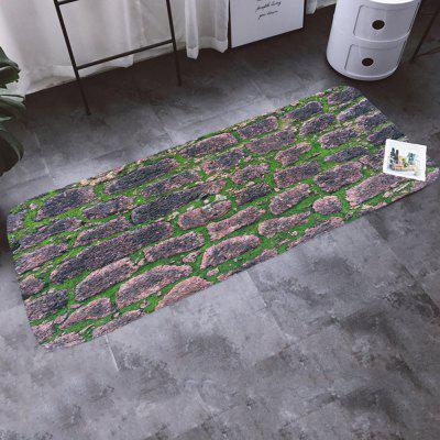 Good Value Shanghaojupin Slate Flower Flannel Anti-slip Mat
