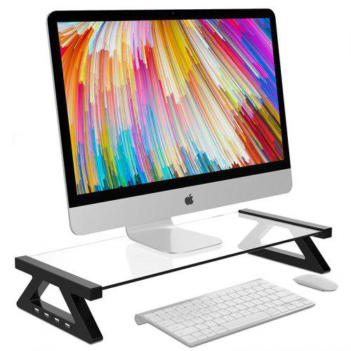 Lp - 03 USB Interface Monitor Stand Desktop Computer Holder Cat Bracket