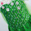 02 - 22 Princess Design Children Show Girl Dress - VERDE  TRIFOGLIO