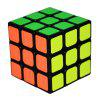 MO FANG GE Smooth Speed ​​Magic Cube Puzzle Toy - CZARNY