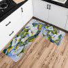 Shanghaojupin Exquisite Flannel Anti-slip Mat - MULTI-A