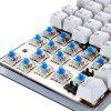 Motospeed K87S NKRO Mechanical Keyboard - WHITE