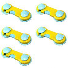 Home Protection Bear Child Safety Lock 5PCS