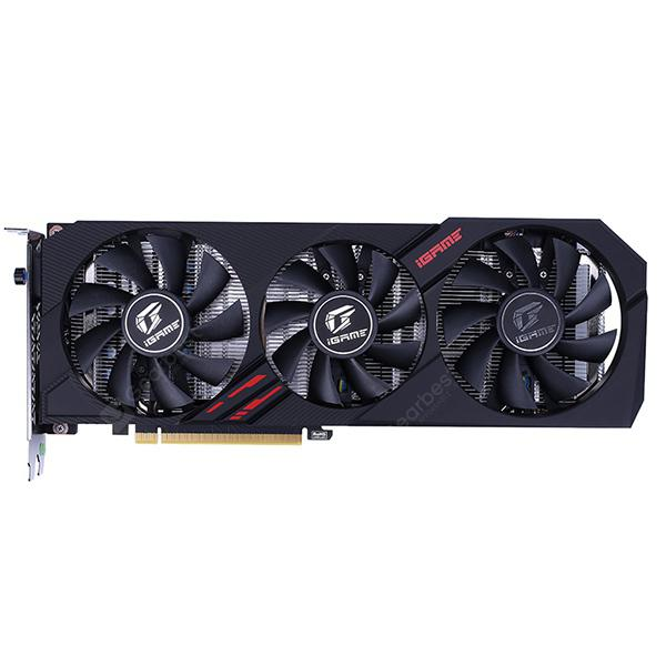 Colorful GeForce GTX 1660Ti Ultra Nvidia Gaming Video Graphics Card - Black