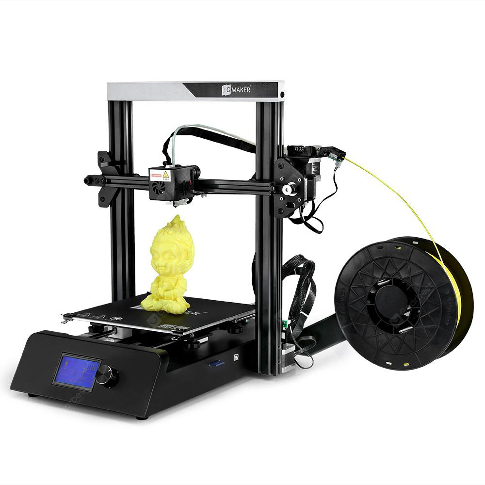 JGAURORA JGMAKER Magic High Presicion 3D Printer - Black EU Plug