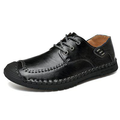 Men's Sewing Leather Four Seasons Casual Shoes