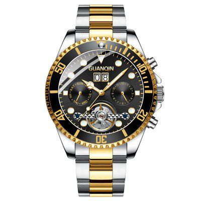 GUANQIN GH17004 Reloj Mecánico Automático Impermeable para Hombre