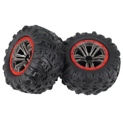 9125 1 / 10 Bigfoot Four-wheel Drive High-speed Model Car Tires 2pcs