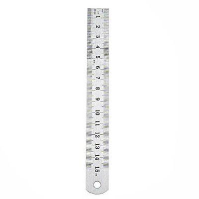 150MM - 300MM Double-sided Scale Steel Ruler