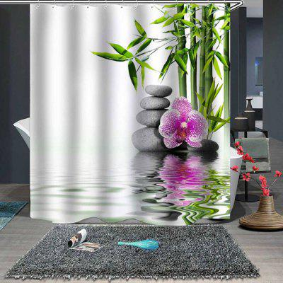 Spring Bamboo Fine Shower Curtain