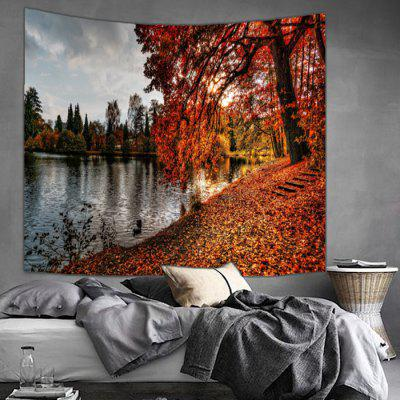 Shanghaojupin Maple Flower Design Tapestry