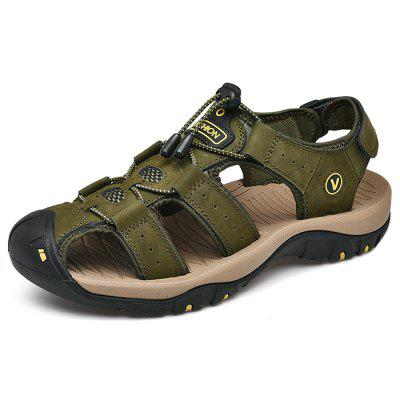 Herenmode outdoor slip sandalen