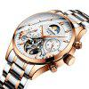 GUANQIN GH17003 Male Automatic Waterproof Hollow Mechanical Watch - MULTI-A