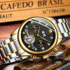 GUANQIN GH17001 Men's Watch Automatic Mechanical Business Waterproof Belt - MULTI-C