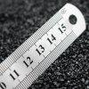 150MM - 300MM Double-sided Scale Steel Ruler - PLATINUM
