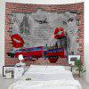 Shanghaojupin Beautiful Lip Print Tapestry - MULTI COLORI-A
