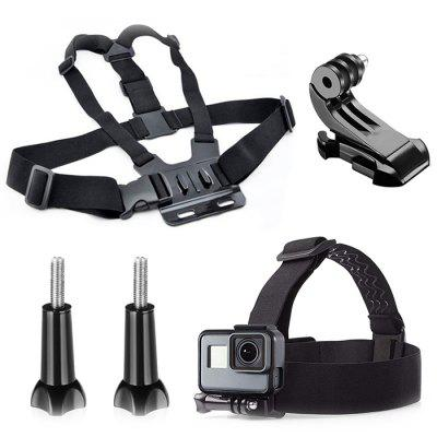 Chest Strap Long Screw J-Seat for All Sports Camera Accessories