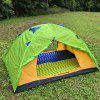 Aotu Camping Inflatable Cushion Outdoor Tent Thickened Sleeping Mat - GREEN