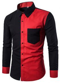 price historyC10 Men's Shirt Fashion Casual Wild Personality Long Sleeve on gearbest