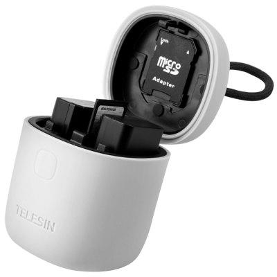 TELESIN NP - FW50 Battery Charger Set for A7r2 / m2 / s2 A6300 / 6000 / 6500