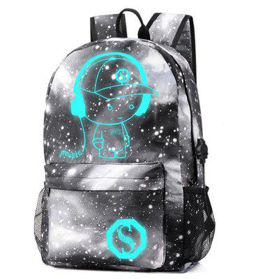 Stylish Durable Breathable Luminous Laptop Backpack