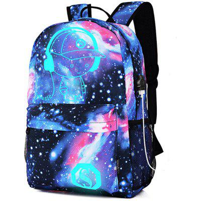 GearBest coupon: Stylish Durable Breathable Luminous Laptop Backpack