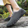 Men Breathable Mesh Outdoor Sports Shoes - DARK GRAY