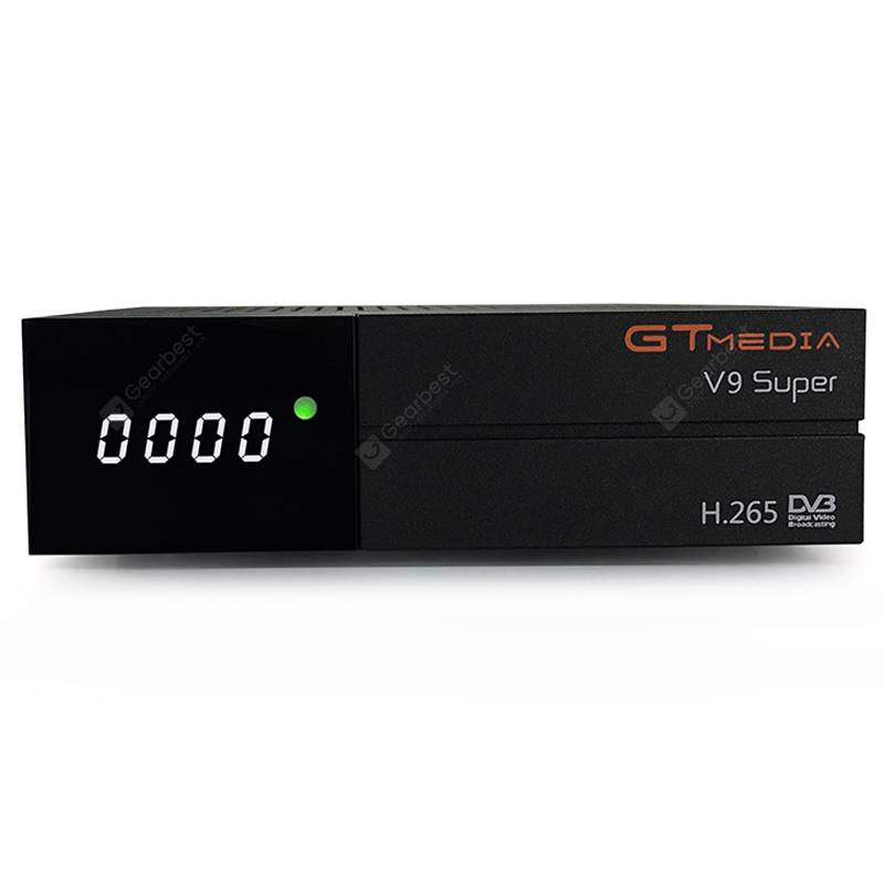GTMEDIA V9 Super DVB - Box TV S2 con display a LED H.265 WiFi HDMI
