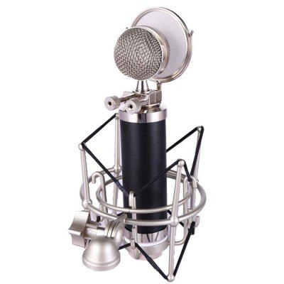 U - 78 Computer Network Karaoke Professional Recording Wired Blue Tone Condenser Microphone