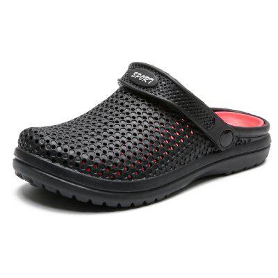 Men's Beach Non-slip Comfortable Hole Slippers Sandals