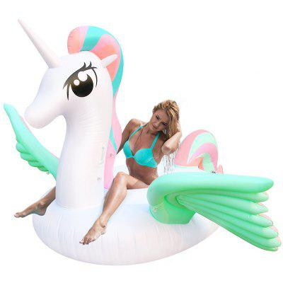 Colorful Wing Unicorn Mount Floating Row