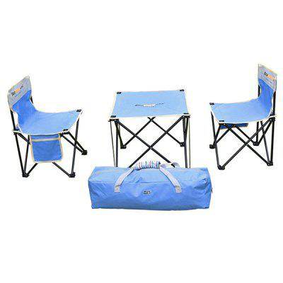 Seashore ST - 09 Camping Leisure Lounge Chair Table 4PCS