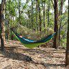Aotu AT6753 Camping Hammock Sleeping Bag liner - GREEN