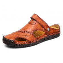 96b49f060deb8f 58% OFF Men Beach Casual Sandals Breathable Lightweight Super Comfortable