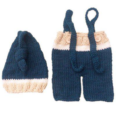 F1030 Baby European American Style Photography Props Wool Knitted Newborn Clothes