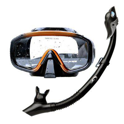 Yonsub Silicone Swimming Goggles with Snorkel