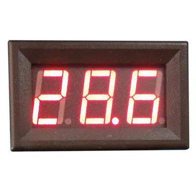 Car 0 - 100V External Power Supply LED Voltmeter