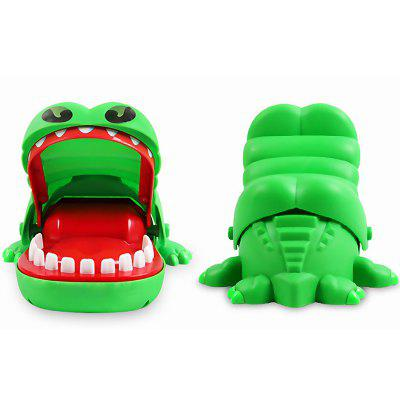 Lovely Stimulating Biting Crocodile Toy