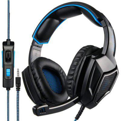 SADES SA920PLUS Wire Control Gaming Headphone HiFi Headset for Computer