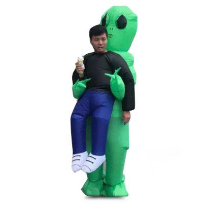 Funny Adult Style Inflatable Alien