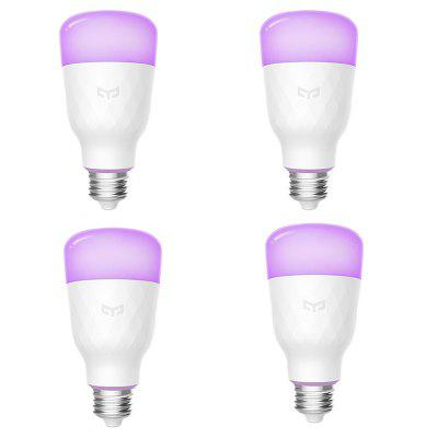 Yeelight RGB E27 Smart Light Bulb ( Xiaomi Ecosystem Product ) 4PCS