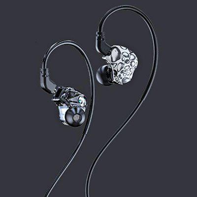FMJ S3 Dual Moving Coil In-ear Neck Headset