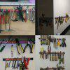 Convenient and Practical Magnetic Tool Storage Rack - BLACK